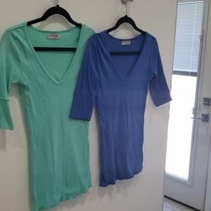 Two Michael Star t-shirts